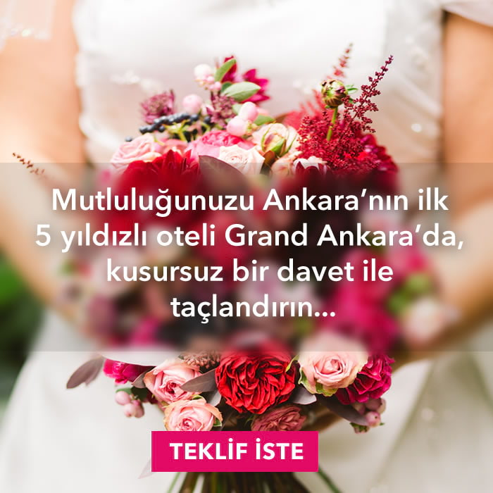 Grand Ankara Düğün Organizasyonu